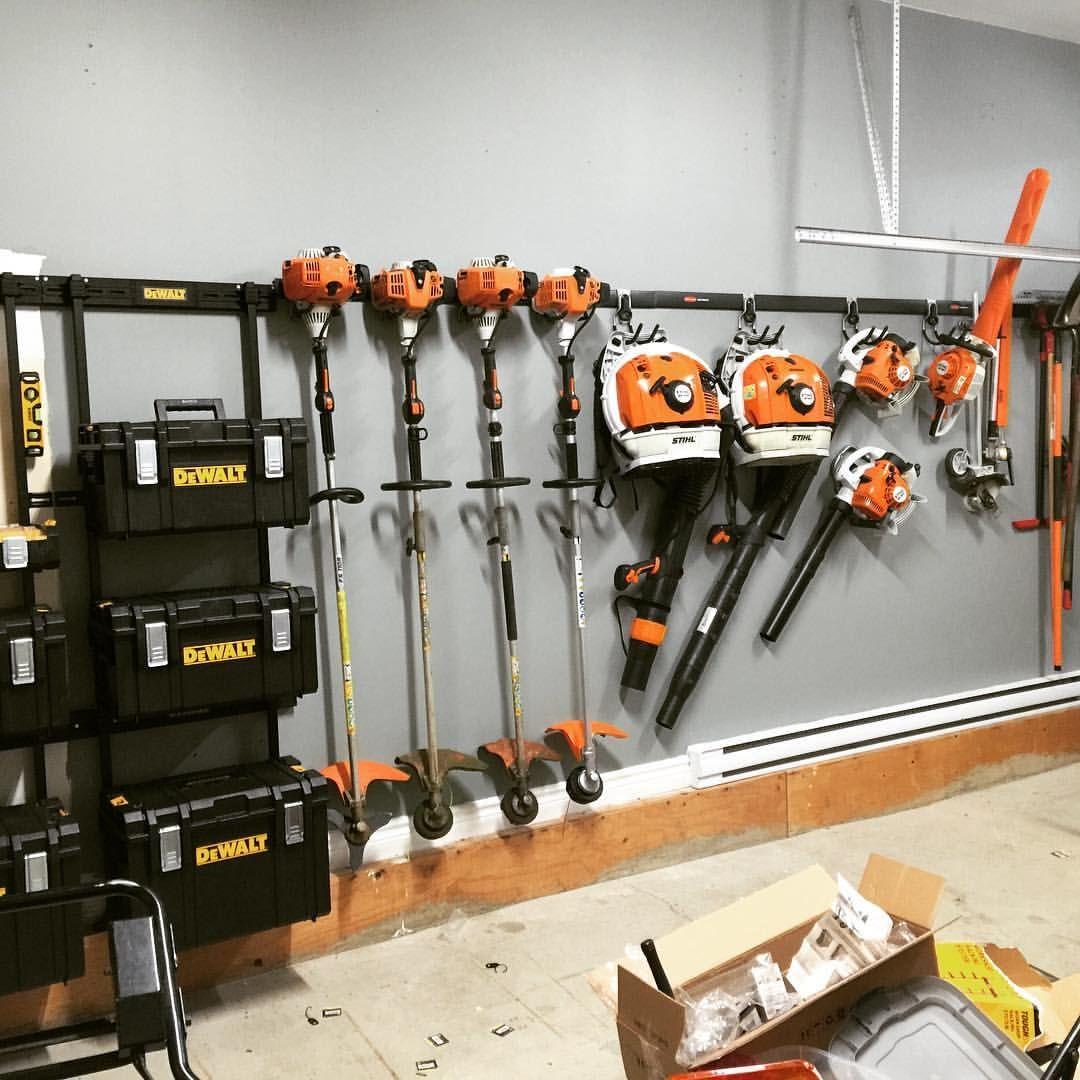 Custom Tool Wall: Pin On Lawn Care Storage/Racks Ideas In 2019
