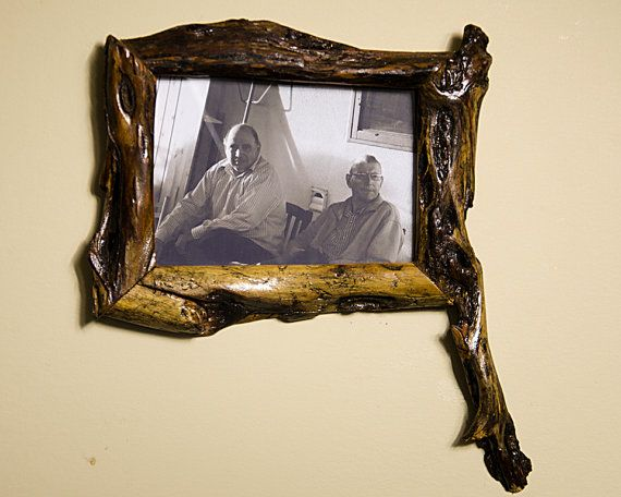 find this pin and more on rustic frames - Unique Picture Frames