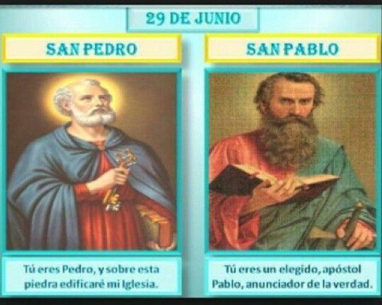 San Pedro Y San Pablo 29 De Junio Dia De San Pedro Iglesia
