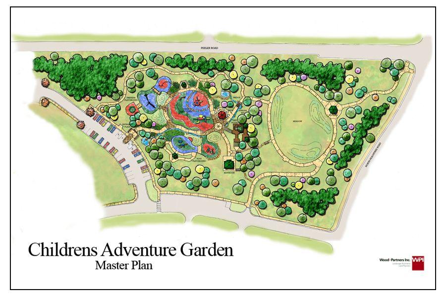 Children S Adventure Garden Master Plan Master Plan How To Plan Parks And Recreation