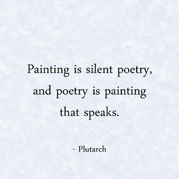 Art Poems About Painting