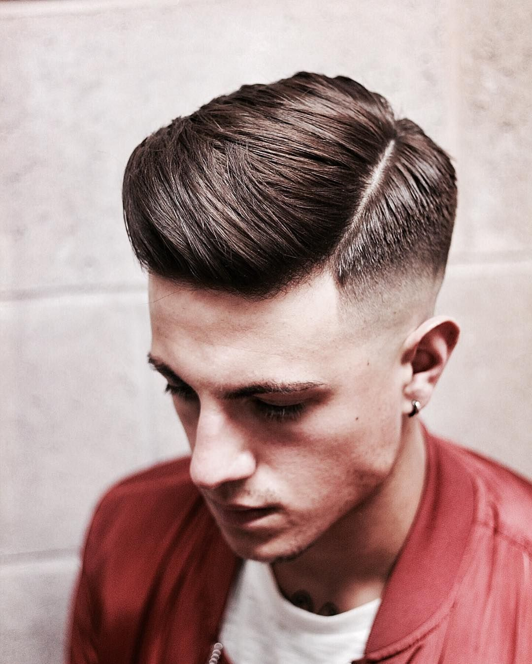 Mens haircut short sides awesome  marvelous menus side swept hairstyles  neat and sexy