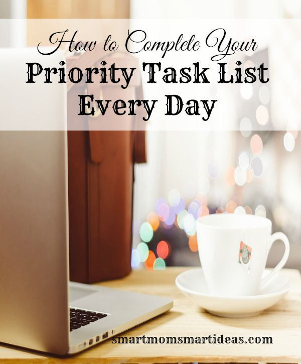How To Complete Your Priority Task List Every Day  Prximo Dia