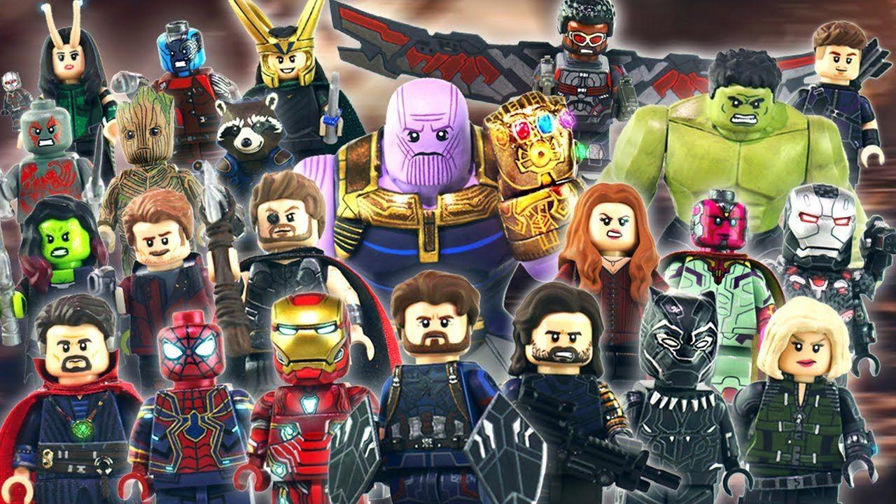 Marvel Avengers Big /& Small Ant Man Double Custom Minifigures Set