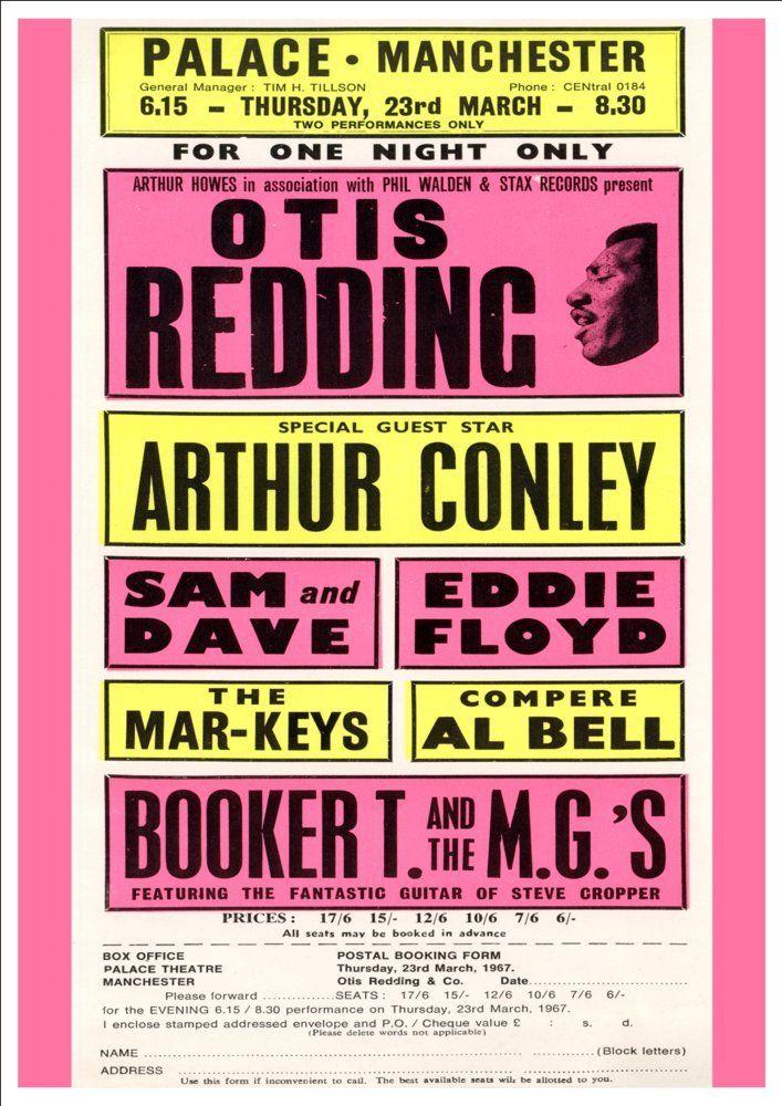 Otis Redding - The Palace, Manchester