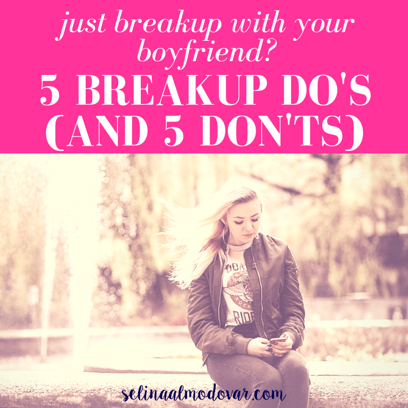 5 Breakup Dos (and 5 Donts) After Breaking Up with Your