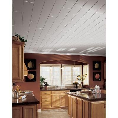 Armstrong Ceilings Woodhaven Painted Plank White 5 Inch X