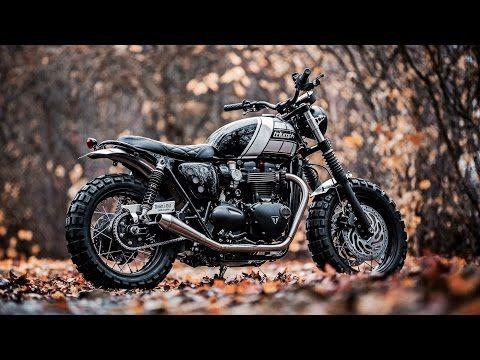 Custom Triumph Bonneville Scrambler By Baak Motocyclettes Youtube