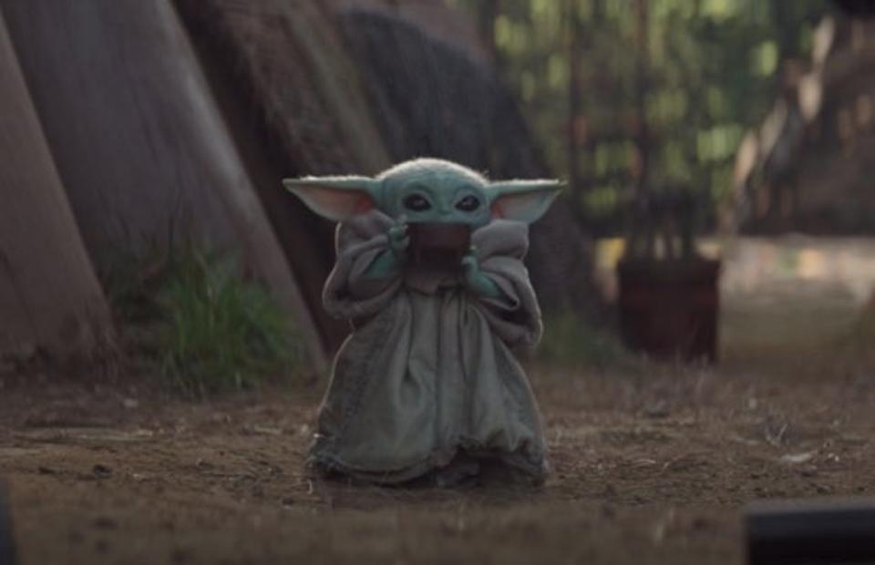 Pin By Sofia Colon On The Mandalorian Yoda Wallpaper Yoda Meme Star Wars