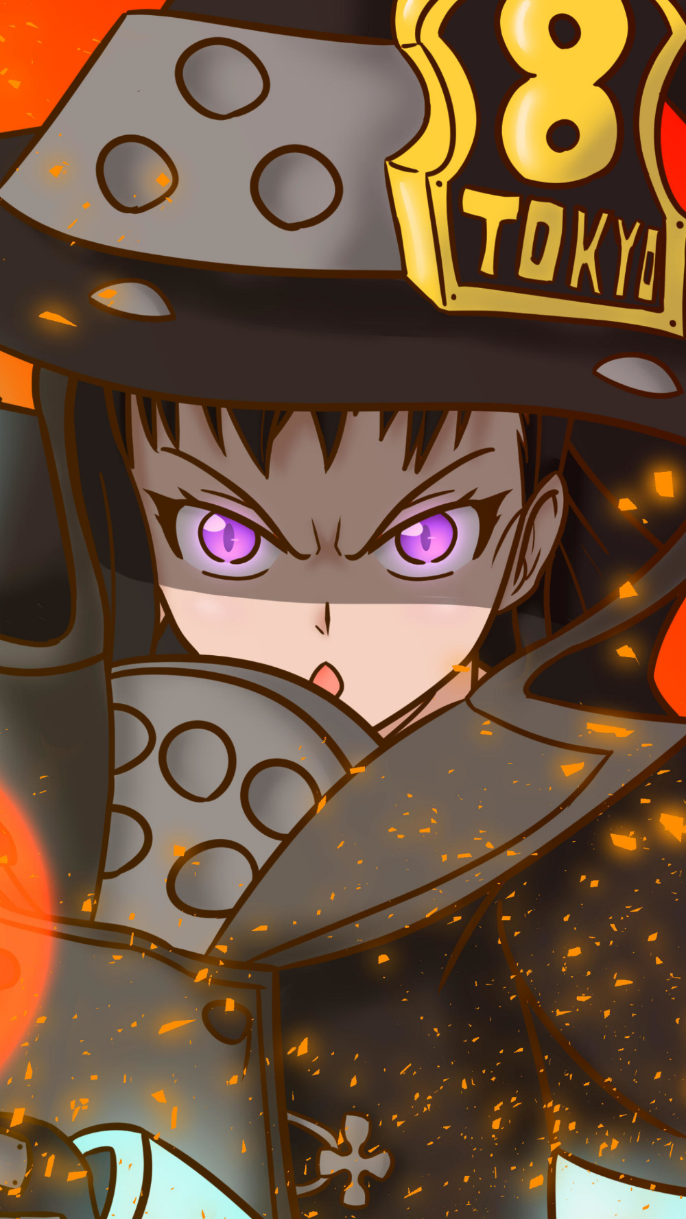 Download this Wallpaper Anime/Fire Force (1440x2560) for
