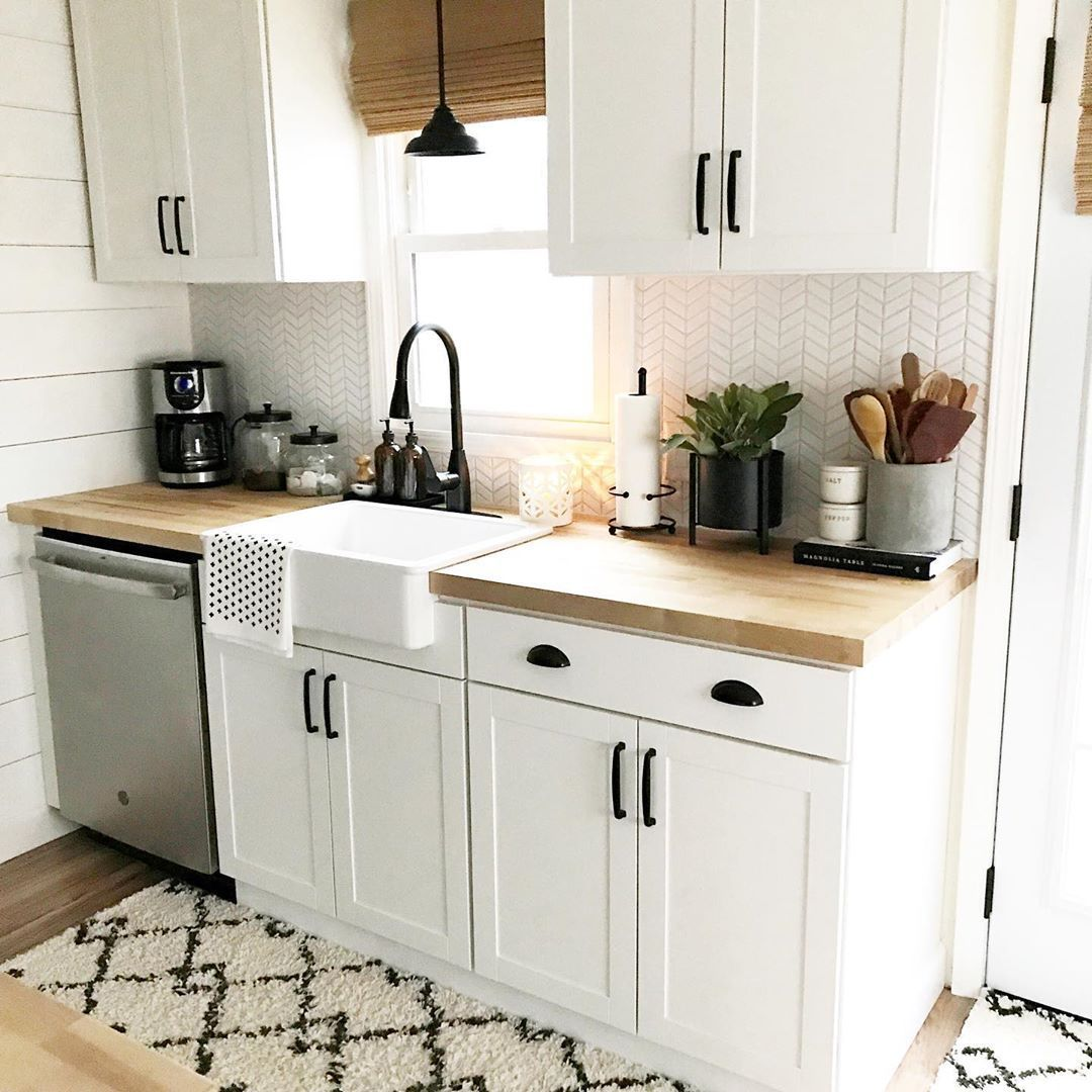 """Kitch - Erin Roberts on Instagram: """"Happy Saturday buddies!  Every time I post a photo of our galley kitchen renovation, I usually receive the same questions: Where did I get…"""" #kitchendesignquestions #whitegalleykitchens"""