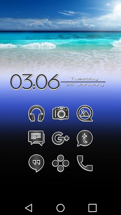 Apklio Apk for Android Aron G Icon Pack 1.5 apk Icon
