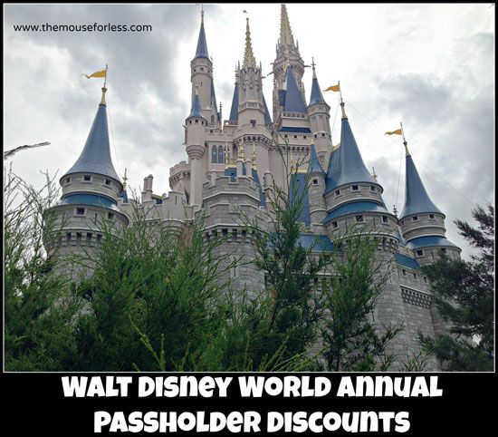 Walt Disney World Annual Passholder Discounts  AP discounts!  #DisneyWorld  #DisneyDiscount