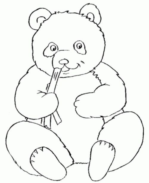 20 Amazing Panda Coloring Pages http://letmehit.com/amazing-panda-coloring-pages/