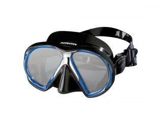 Atomic Aquatics Subframe Blue Black Taucherbrille Tauchen Tauchmaske