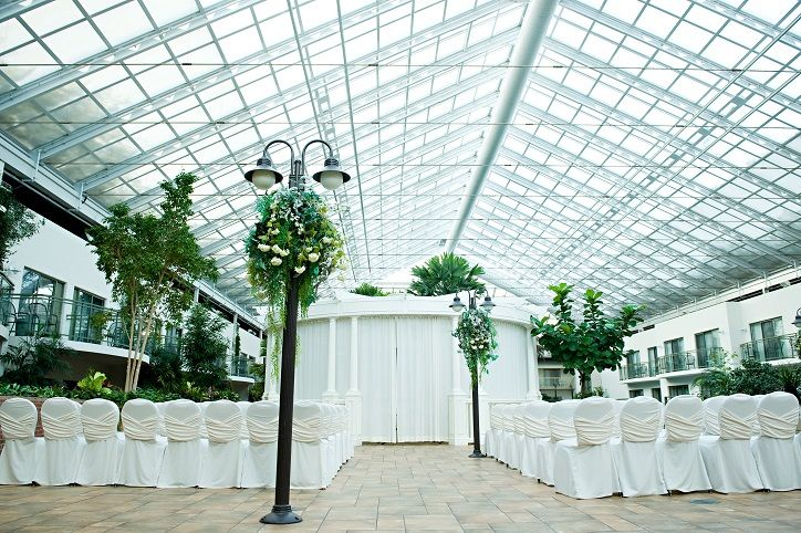 Best Western PLUS Lamplighter Inn In London, Ontario Offers A Gorgeous  Atrium For Intimate Weddings
