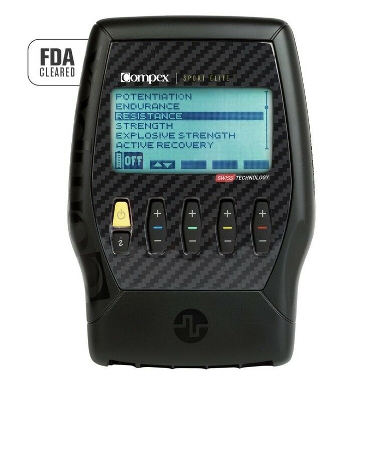 Compex Sport Elite 2.0 Electronic Muscle Stimulator Kit