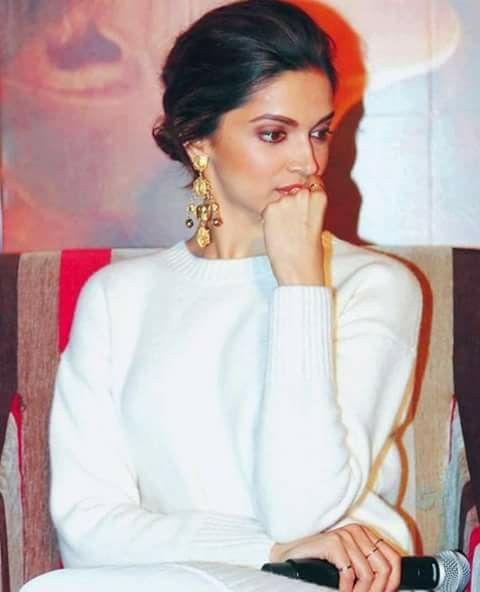 Pin by Sana on Deepika Padukone | Hoop earrings, Deepika ...