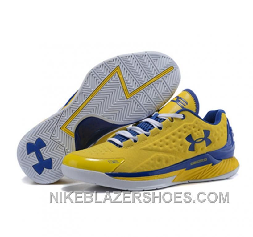 Hot Under Armour ClutchFit Drive Low Stephen Curry Shoes Yellow, Price:  $85.00