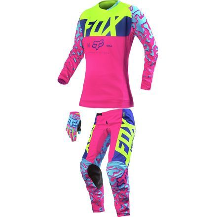 c55d96a6a0d48 Dirt Bike Fox Racing 2016 Women's 180 Combo | MotoSport | 2016 ...