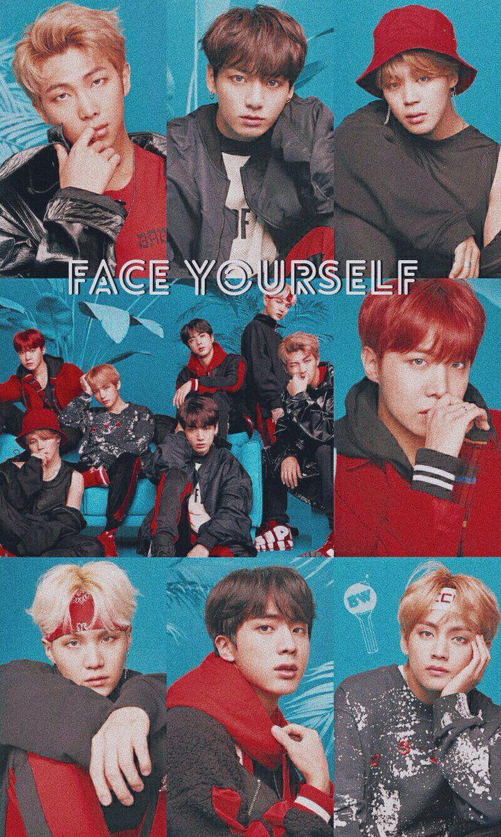 Jungkook Wallpaper Iphone Bts X Face Yourself Bts 방탄소년단 In 2019 Bts Kpop