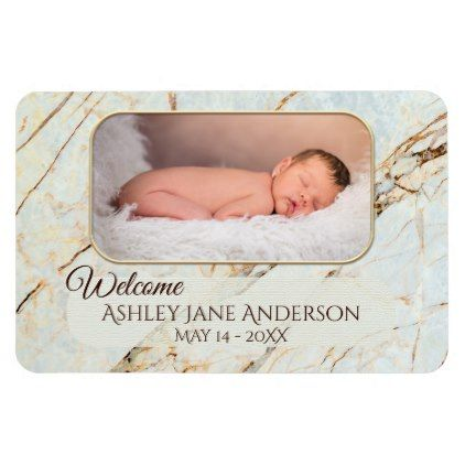 Large personalized baby photo flexible magnet large personalized baby photo flexible magnet baby gifts giftidea diy unique cute negle Choice Image