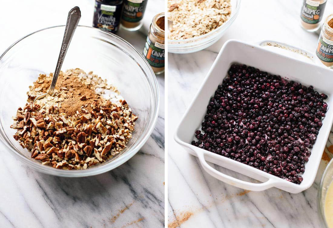 Baked Oatmeal Recipe With Blueberries Cookie And Kate Recipe Blueberry Recipes Baked Oatmeal Recipes Recipes