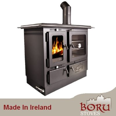 Boru Ellis Solid Fuel Central Heating And Cooking Kitchen
