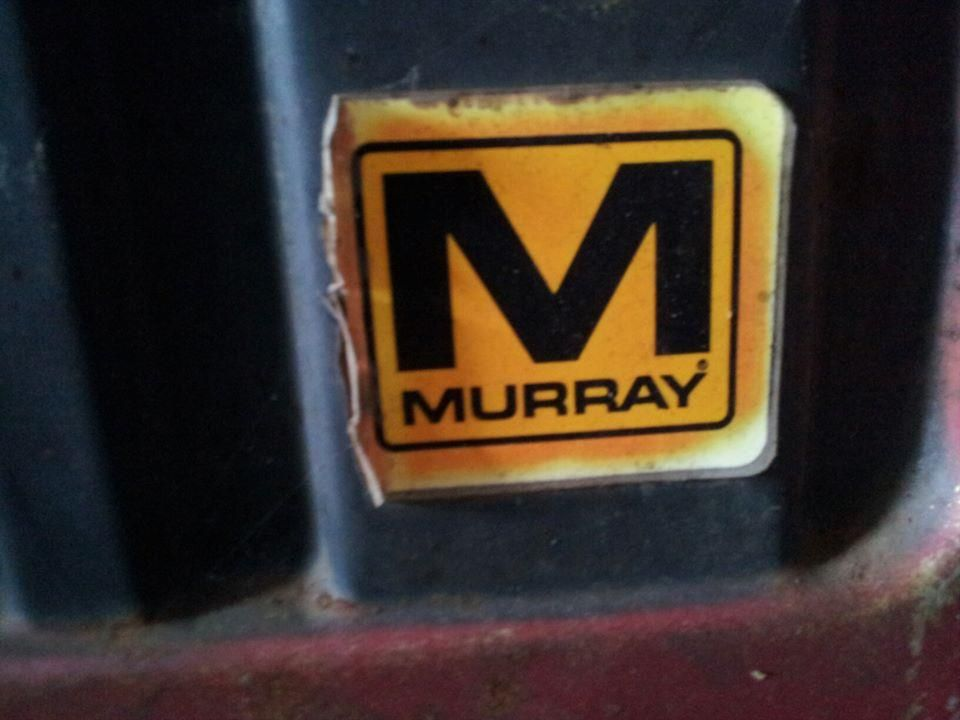 Older Murray 11 HP Lawn Tractor - Runs Well | Auction Items