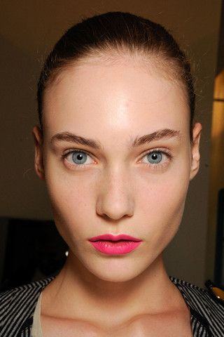 pink lips. love