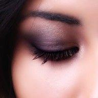 I love purple eyeshadow when it's not overdone!