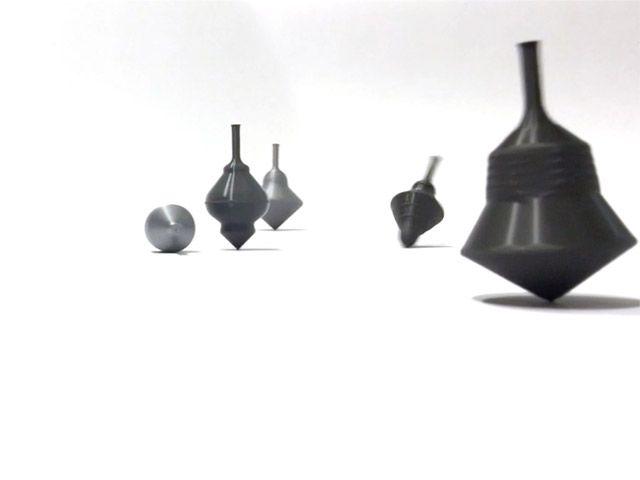 movie still – 3d printed spinning tops