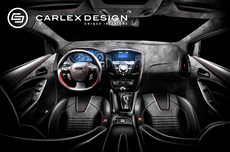 custom interior of a ford focus mk3 ford pinterest. Black Bedroom Furniture Sets. Home Design Ideas