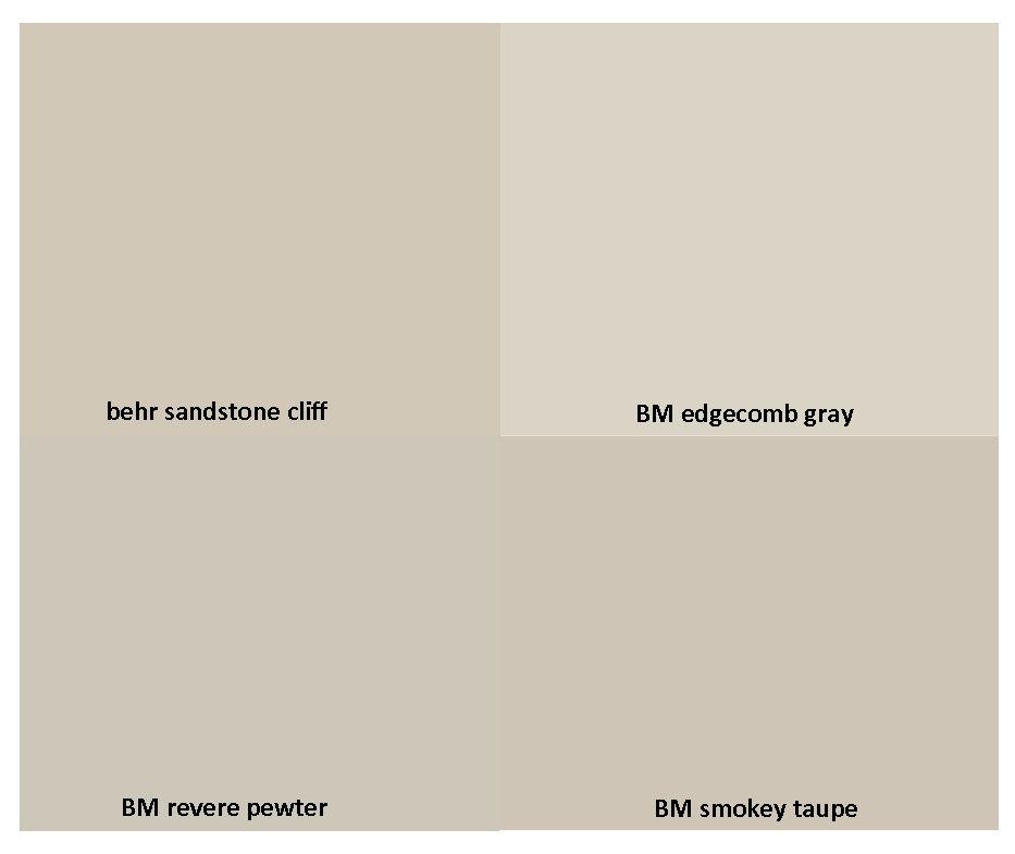 Sherwin Williams Vs Behr Interior Paint: Gorgeous Neutrals: Behr Sandstone Cliff / Benjamin Moore