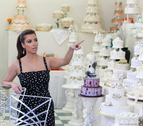Hansens Cakes Celebrity Weddings Kim Kardashian Prepares For The America Version Of Royal Wedding Scheduled August 20 In Case You Hadnt Heard