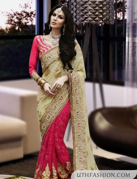 f7b53444fcc36 Latest Fancy Saree Blouse Designs More