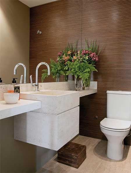Como decorar lavabos lavabo em 2019 lavabos e moderno - Fotos lavabos modernos ...