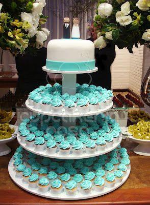 CUPCAKERIA ROSA - Bolos e Cupcakes em Curitiba  casamento  89b4eed32ca