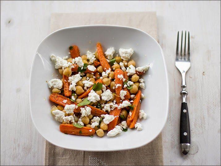 kichererbsen salat mit babym hren und feta 365 salate oder mehr food salad und pasta. Black Bedroom Furniture Sets. Home Design Ideas
