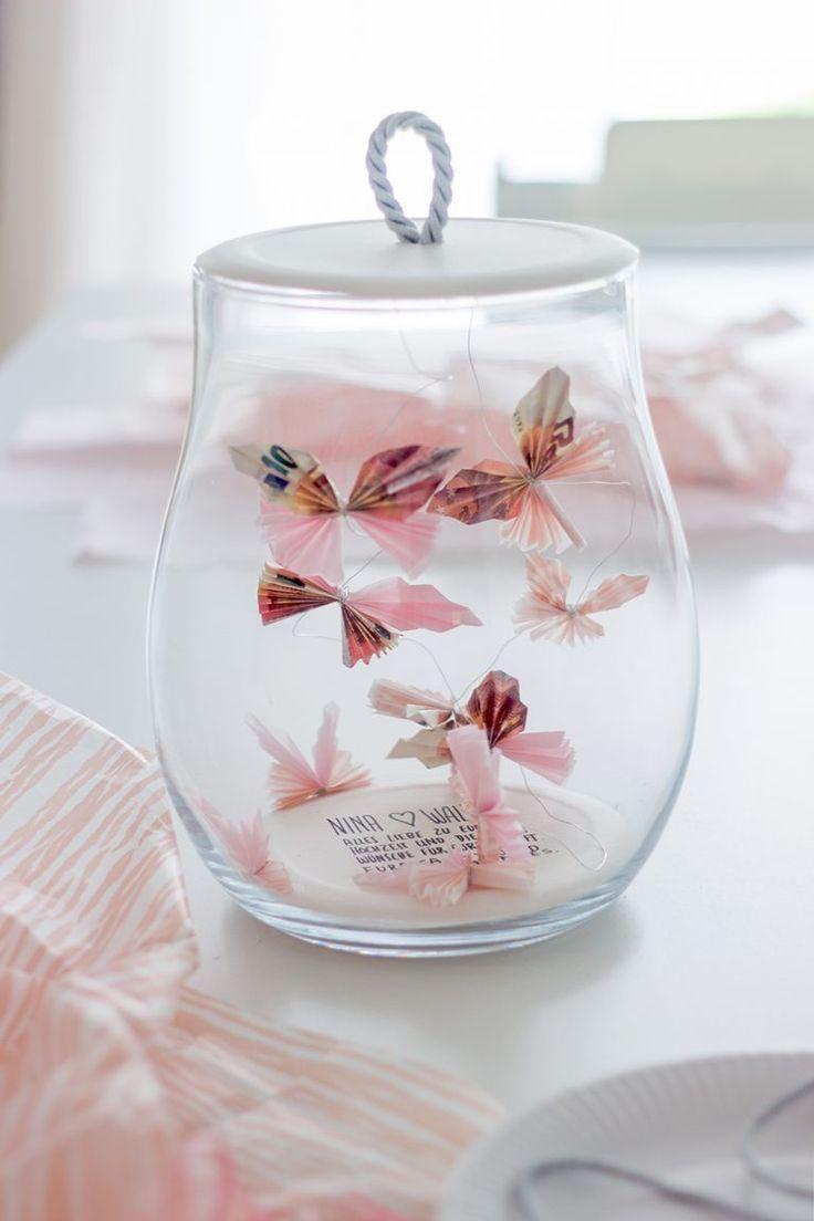 Kreative Verpackungsideen für ein Geldgeschenk und Schmuck #gifts