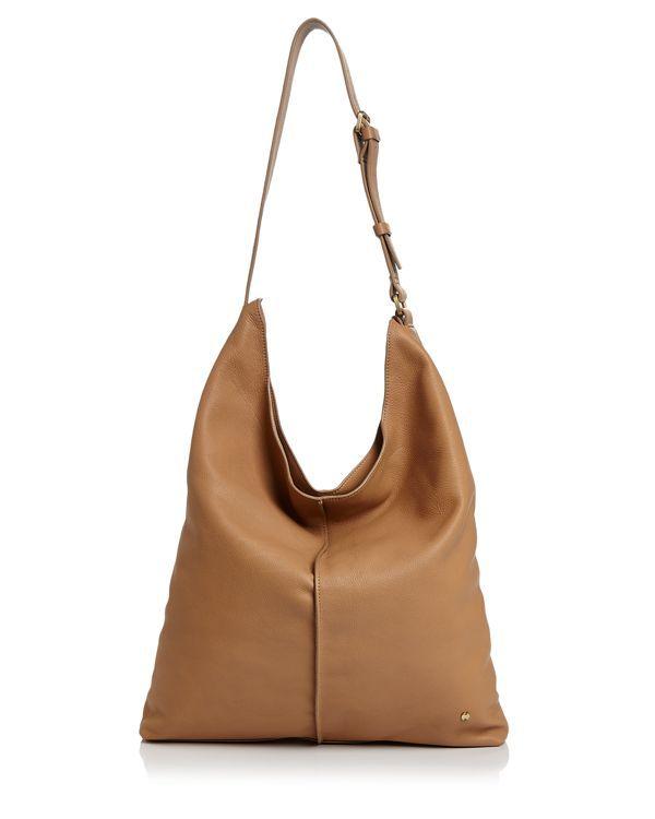 aa52472252 Halston Heritage Tina North South Leather Shoulder Bag