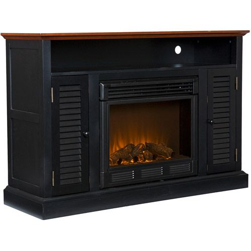 Wiltshire Electric Fireplace Media Console Walmart Com