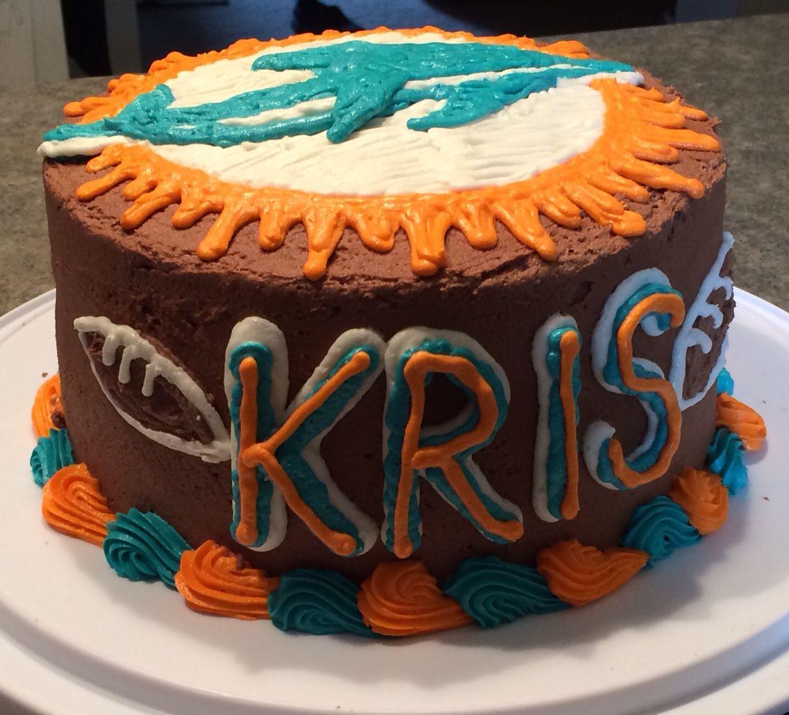 Miami dolphins birthday cake cake dolphin birthday