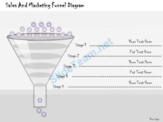 1113 Business Ppt Diagram Sales And Marketing Funnel Diagram ...
