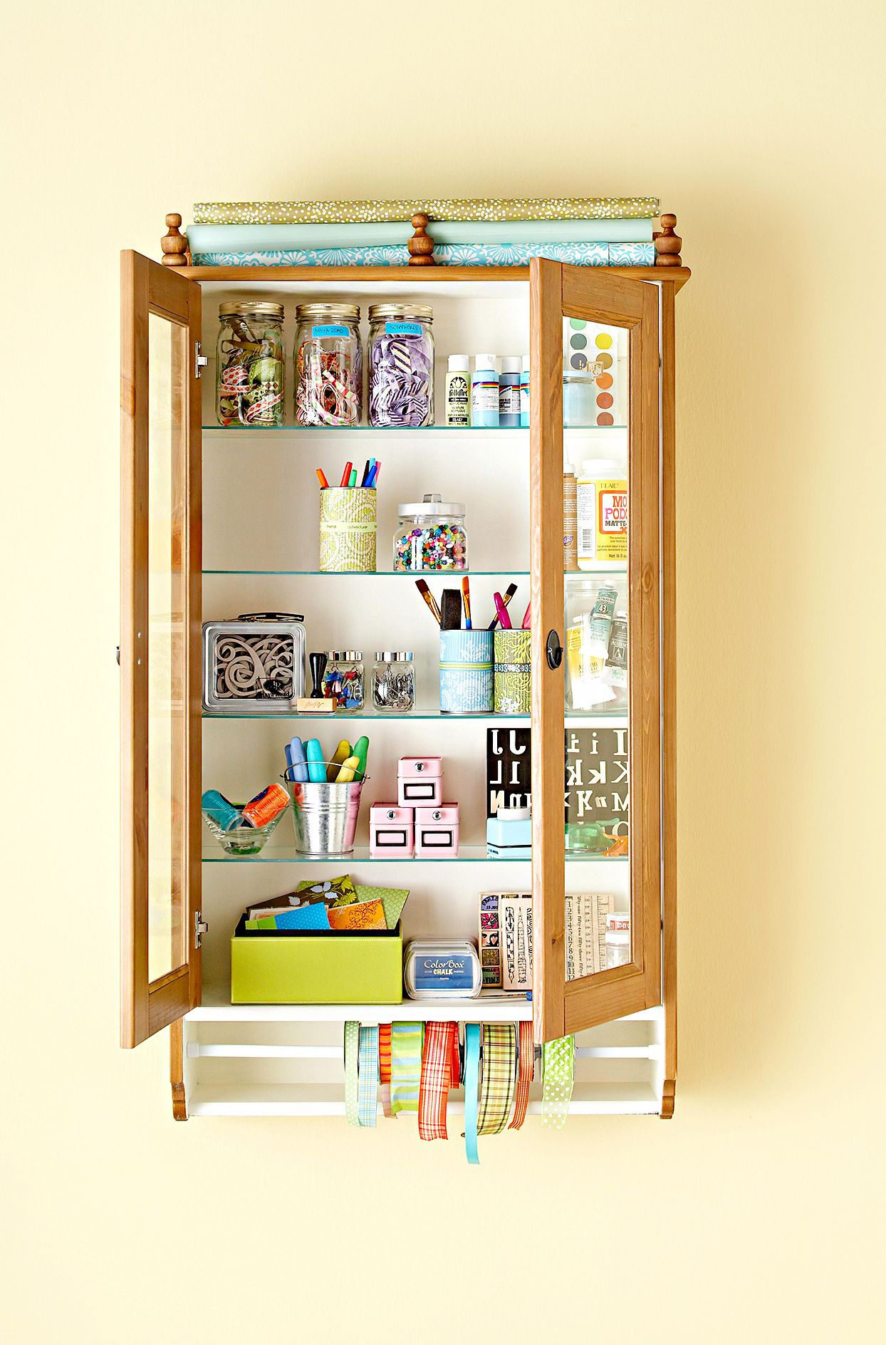 27 Clever Ideas For Organizing Craft Supplies In 2020 Kids Craft