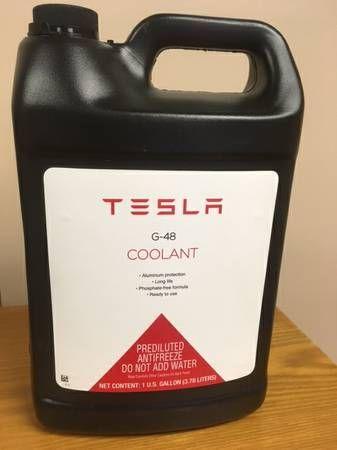 Genuine Tesla G48 Coolant Antifreeze Fluid 1029320 00 A 808926 1