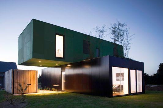 MODULAR HOMES Modular Home Concept Crossbox By Clément Gillett Extraordinary Design Container Home Concept