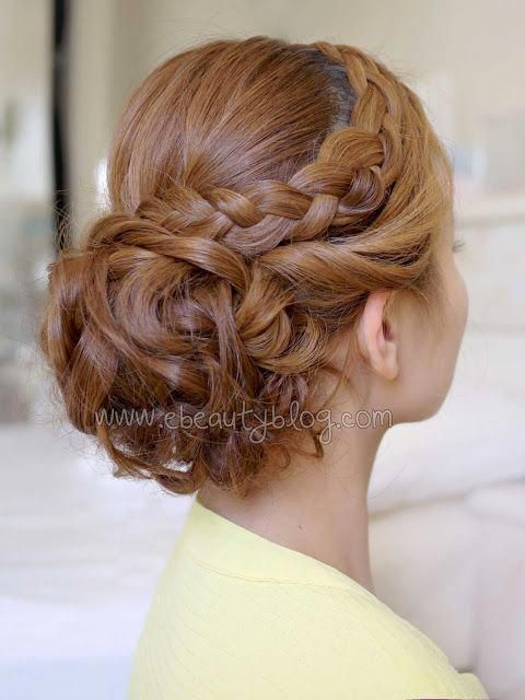 Hair Cut Style Job Interview Hairstyle Ke Photo   Curly prom hair, Homecoming hairstyles, Medium ...
