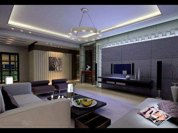 Living room 3ds max model download 5 download 3d model for Model living room design