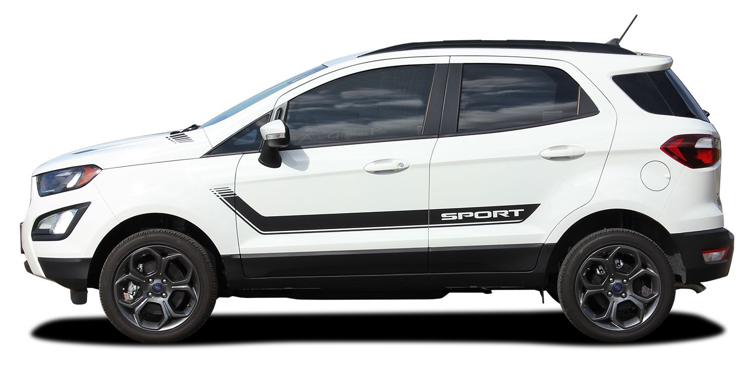 Ag5950 2013 2020 Ford Ecosport Flyout Side Door Decal And Ho Ford Ecosport Rally Stripes Ford